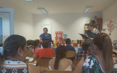 A roma kultúrával és történelemmel ismerkedtek a sarkadi gyerekek a helyi Közösségi Házban
